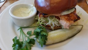 The Kettle - salmon sandwich
