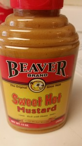Beaver brand sweat hot mustard