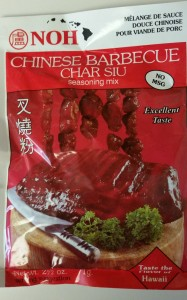 Char Su spice packet