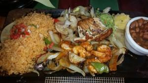 el torito - seafood fajitas