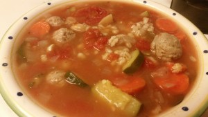 soup close up