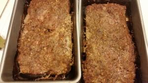 turkey meatloaf baked