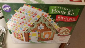 gingerbread house - box