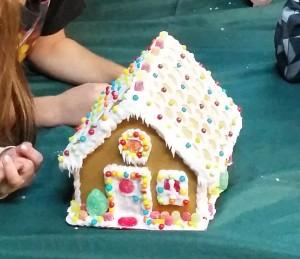 gingerbread house - kids