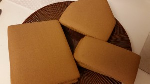 gingerbread house - pieces