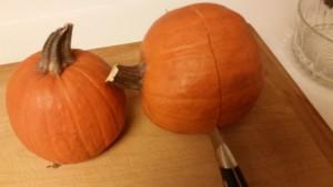 pumpkin - cut