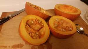 pumpkin - open