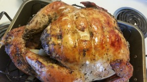 turkey - cooked side