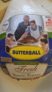 turkey - raw in package