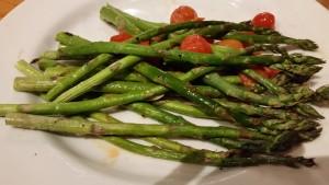 chilis - asparagus