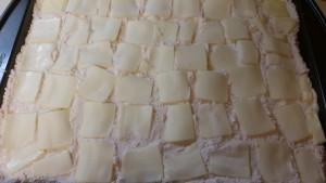 peach cobbler - butter top