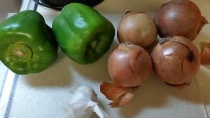potluck chili - ingredients 1