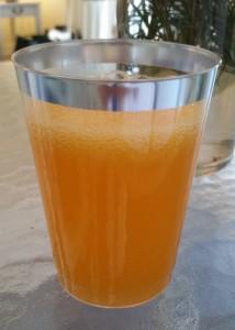 tangerine juice drinks - mixed