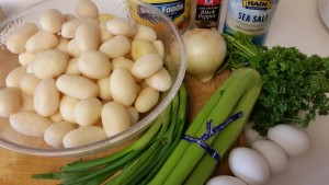 Irish potato salad - ingredients