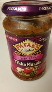 chicken tikka masala - sauce