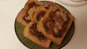 cinnamon toast - finished